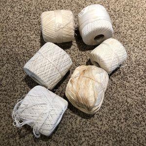 6 rolls of string